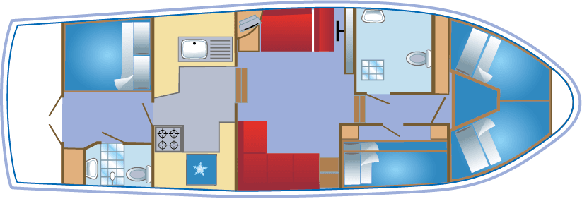 Lady Kristina Floorplan