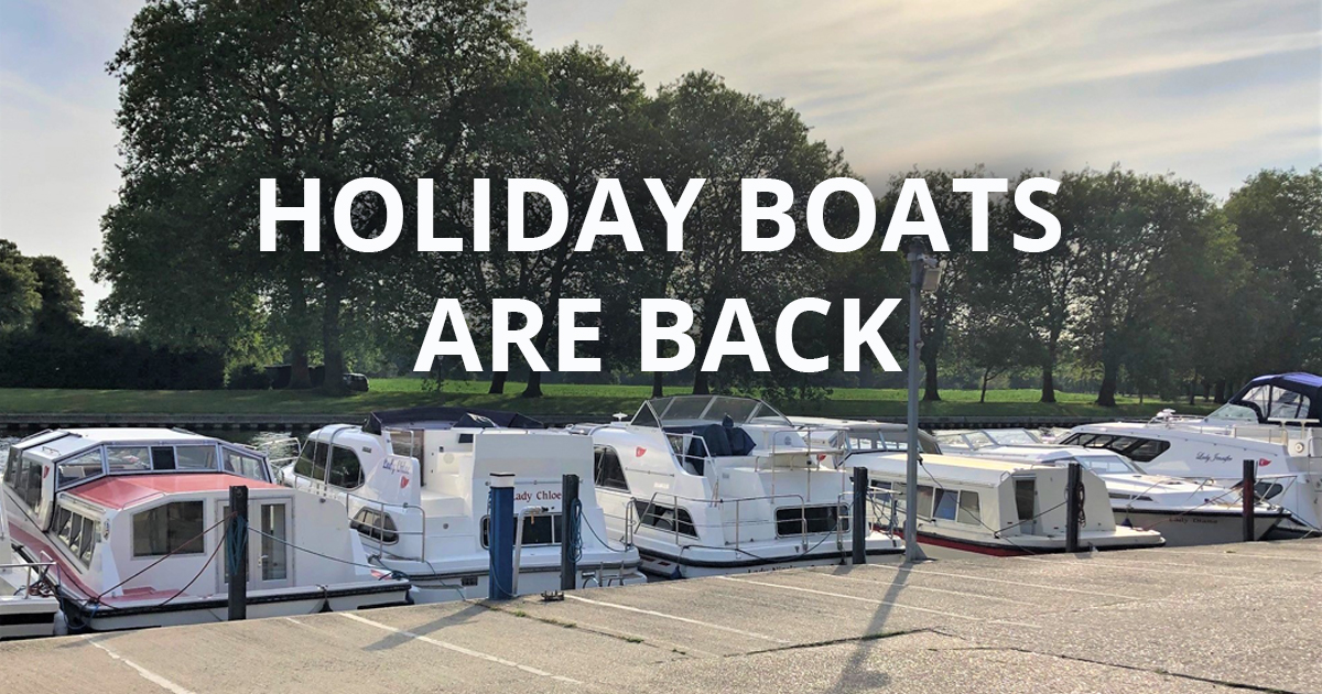 Kris Cruiser Holiday Boats are back